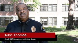 Chief John Thomas, USC DPS